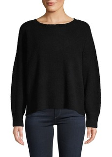 Alice + Olivia Boatneck Wool-Blend Sweater
