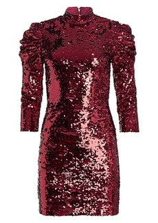 Alice + Olivia Brenna Sequin Bodycon Dress
