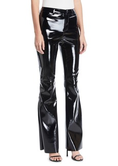 Alice + Olivia Brent High-Waist Bell Pants