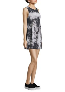 Alice + Olivia Bryanna Tie-Dye Tank Dress