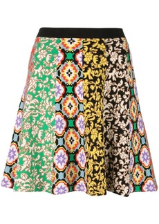 Alice + Olivia Bunnie combo mini skirt