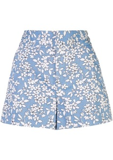 Alice + Olivia Cady floral print shorts