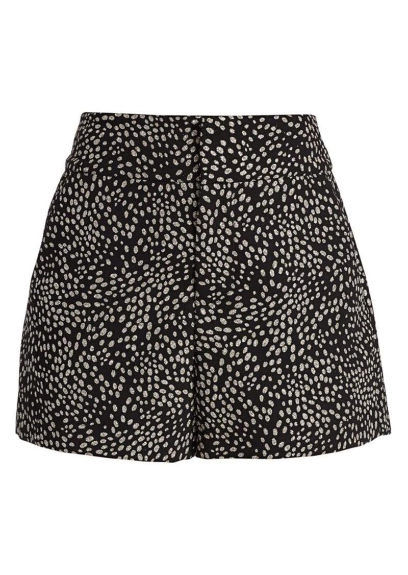 Alice + Olivia Cady High-Waist Shorts