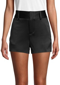 Alice + Olivia Cady High-Waisted Shorts