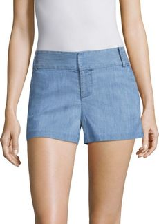 Alice + Olivia Cady Chambray Shorts