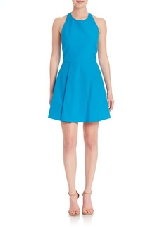 Alice + Olivia Christie Halterneck Sleeveless Dress