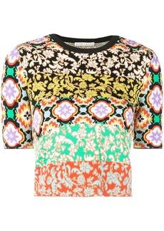 Alice + Olivia Ciara crew neck sweater