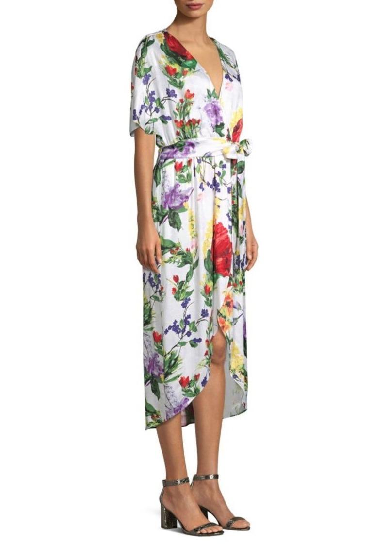 5014ab676d Alice + Olivia Clarine Floral-Print Dress