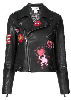 Alice + Olivia cody biker jacket