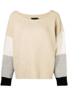 Alice + Olivia colour block jumper