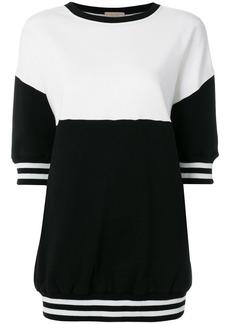 Alice + Olivia colour block short sleeve sweatshirt