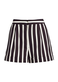 Alice + Olivia Conry Stripe Shorts