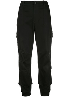 Alice + Olivia cropped cargo trousers