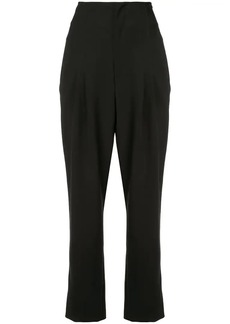 Alice + Olivia cropped pleated trousers