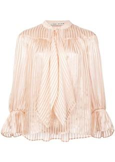 Alice + Olivia Danika striped blouse