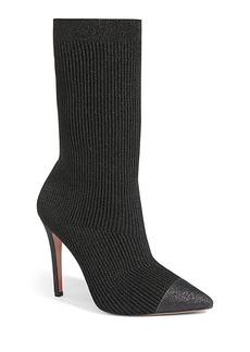 Alice + Olivia Darbin Knitted Sock Booties