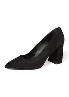 Alice + Olivia Demetra Suede Pointed Pumps