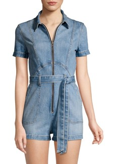 Alice + Olivia Denim Jumpsuit