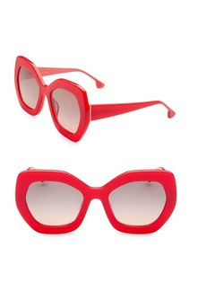 Alice + Olivia Dinah Poppy Sunglasses