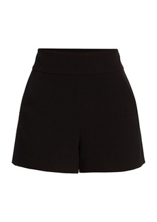 Alice + Olivia Donald High-Waist Shorts