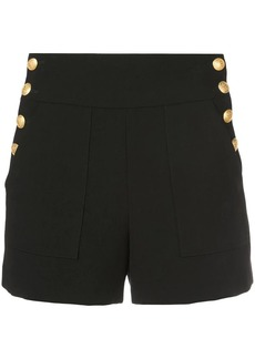 Alice + Olivia Donald side-buttoned shorts