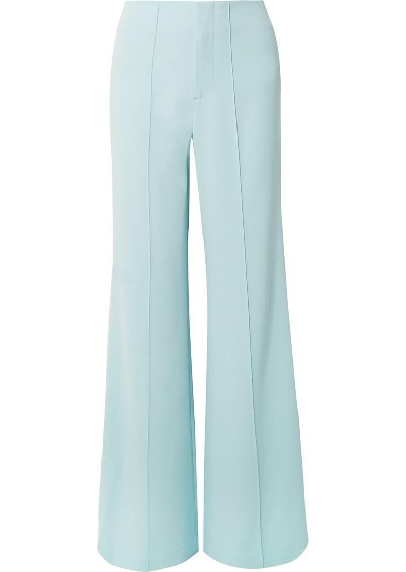 Alice + Olivia Dylan Crepe Wide-leg Pants