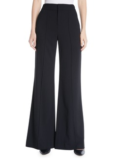Alice + Olivia Dylan High-Waist Wide-Leg Pants