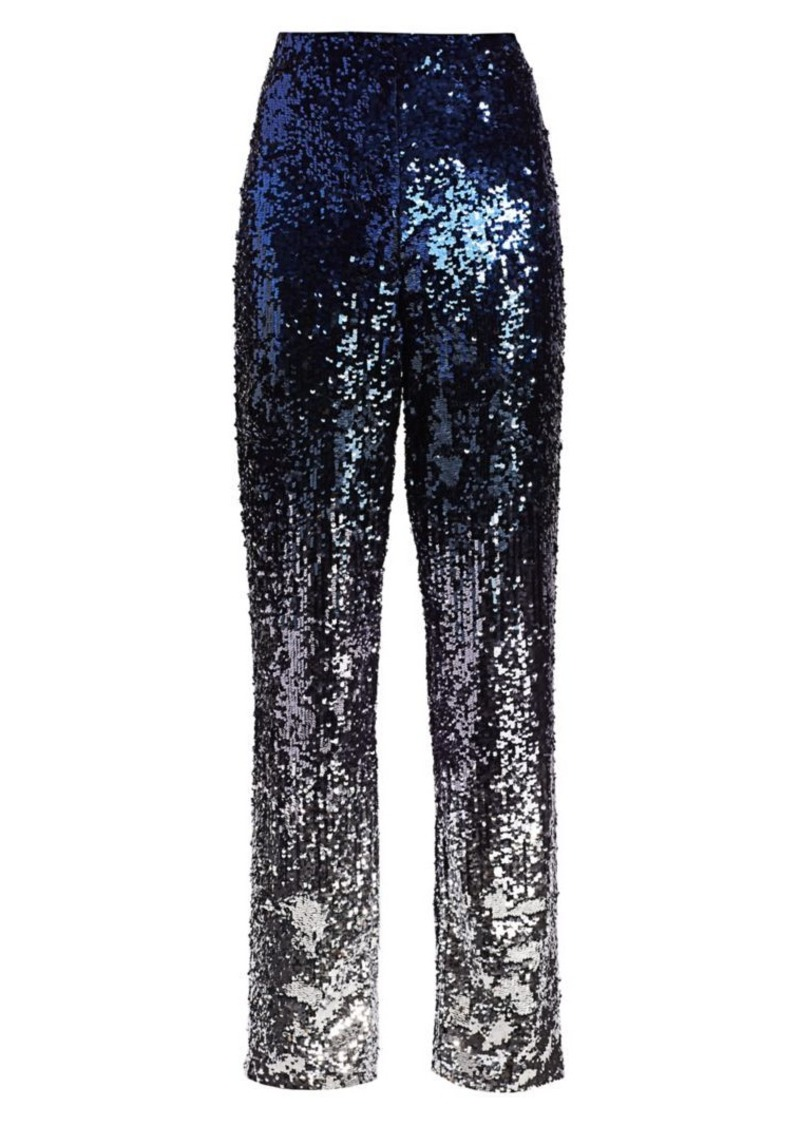 Alice + Olivia Elba Ombre Sequin Pants