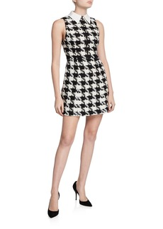 Alice + Olivia Ellis Zip-Front Dress