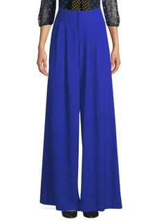 Alice + Olivia Eloise Seamed Wide Leg Pants