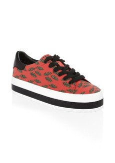 Alice + Olivia Erza Cheetah Sneakers