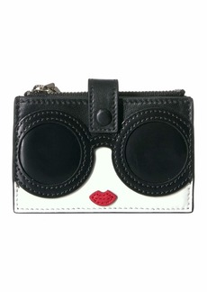 Alice + Olivia Ester Stace Face Small Accordion Wallet