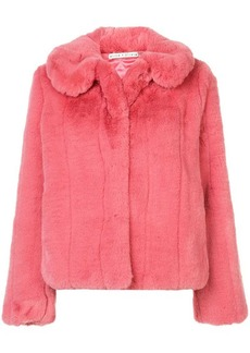 Alice + Olivia faux fur jacket
