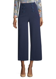 Alice + Olivia Ferris Sailor Culotte Pants
