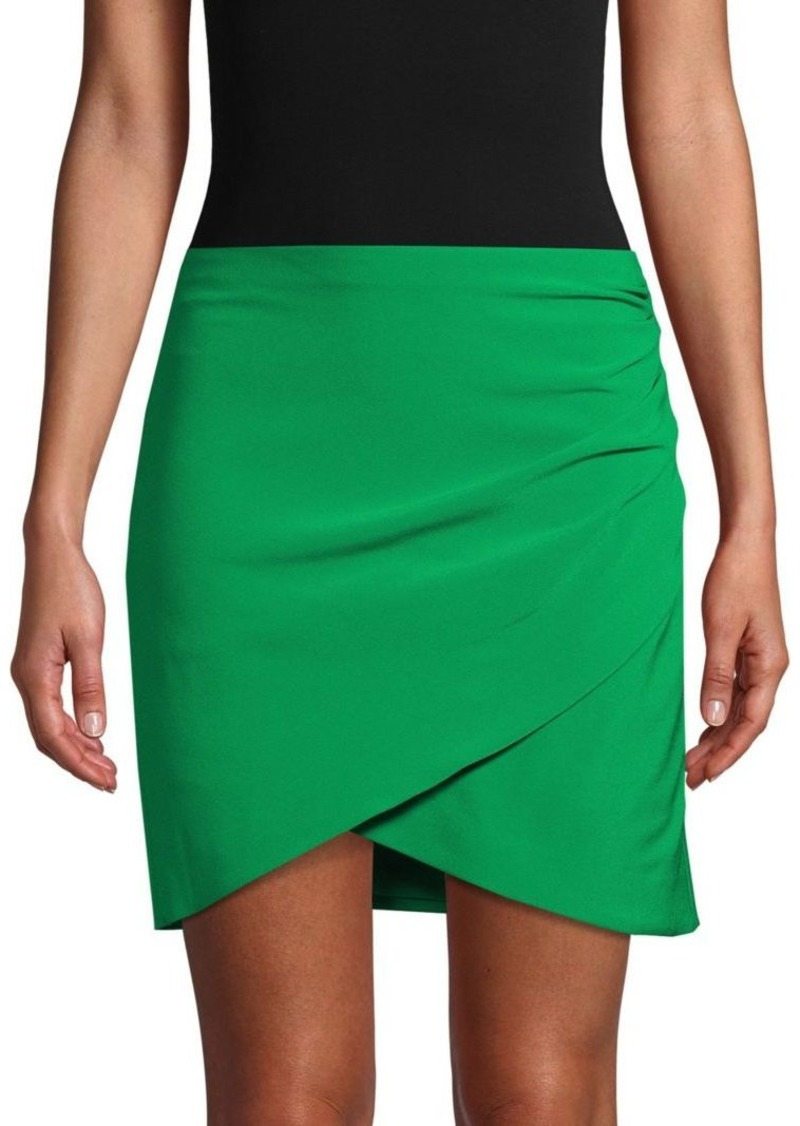 Fidela Draped Mini Skirt