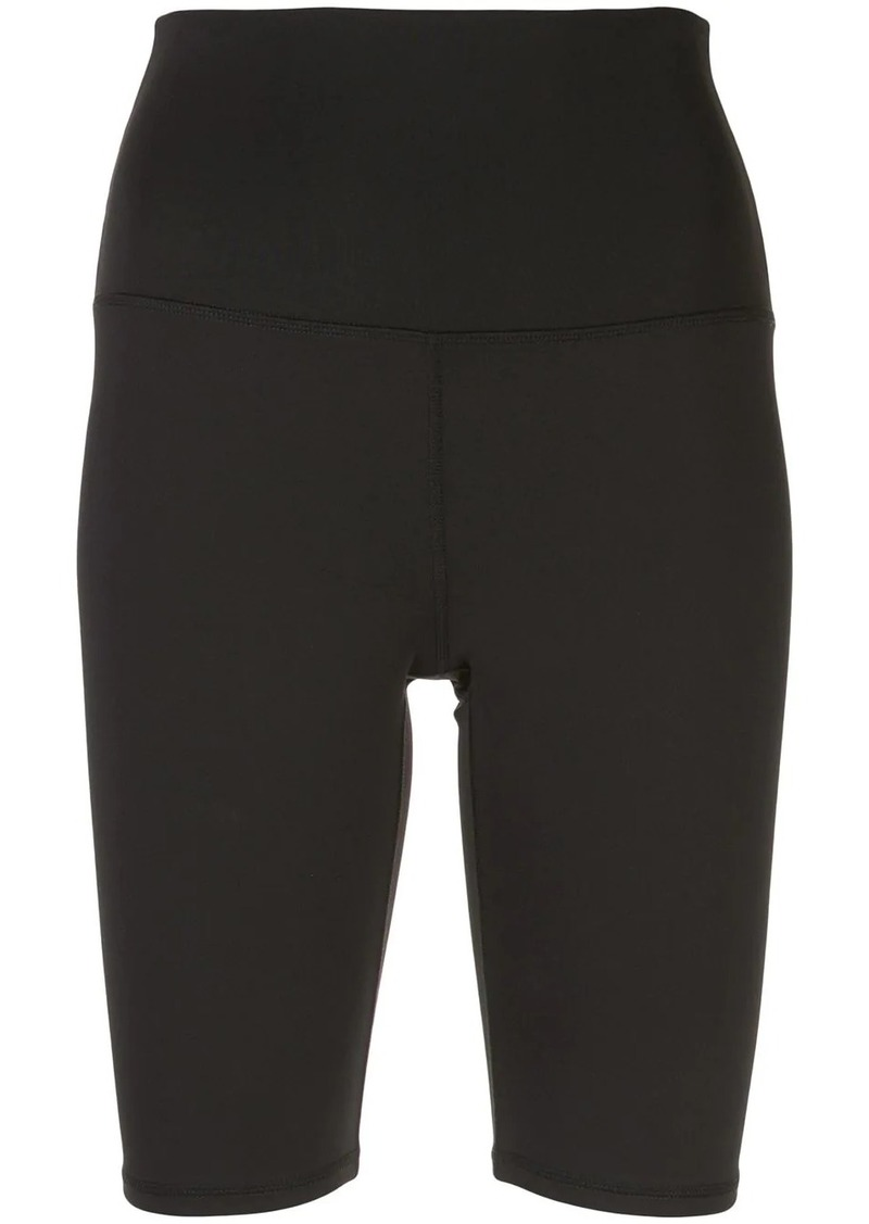 Alice + Olivia fitted biker shorts