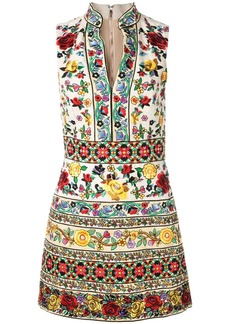 Alice + Olivia floral embroidered dress