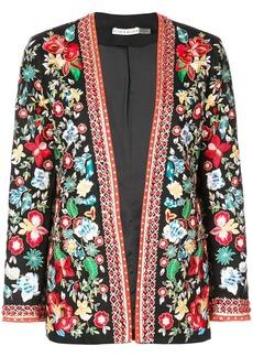 Alice + Olivia floral embroidered jacket