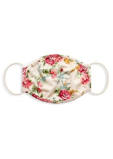 Alice + Olivia Floral Face Mask