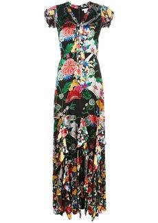 Alice + Olivia floral print maxi dress