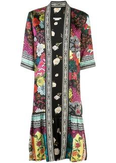 Alice + Olivia floral print oversized jacket