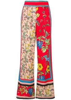 Alice + Olivia floral print palazzo trousers
