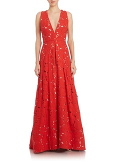 Alice + Olivia Francis Gown