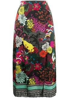 Alice + Olivia front slit skirt