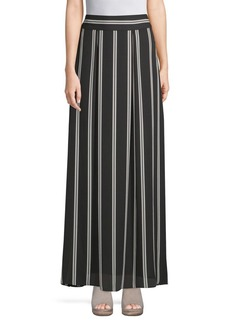 Alice + Olivia Gabel Striped Maxi Skirt