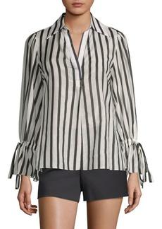 Alice + Olivia Geraldine Striped Tunic