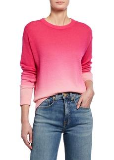Alice + Olivia Gleeson Dip-Dye Cashmere Pullover Top