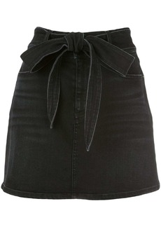 Alice + Olivia Good denim mini skirt