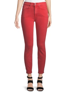 Alice + Olivia Good High-Rise Ankle-Length Skinny Jeans