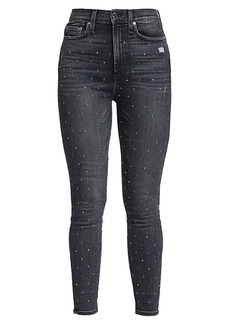 Alice + Olivia Good High Rise Ankle Skinny Jeans